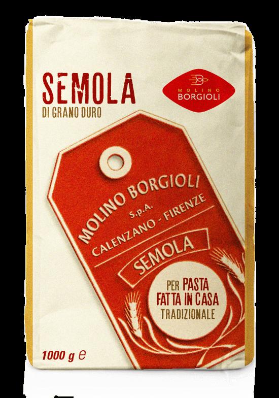 Molino Borgioli packaging