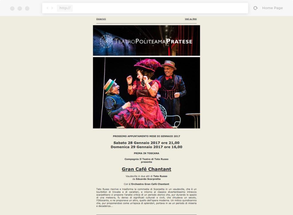 Newsletter Teatro Politeama