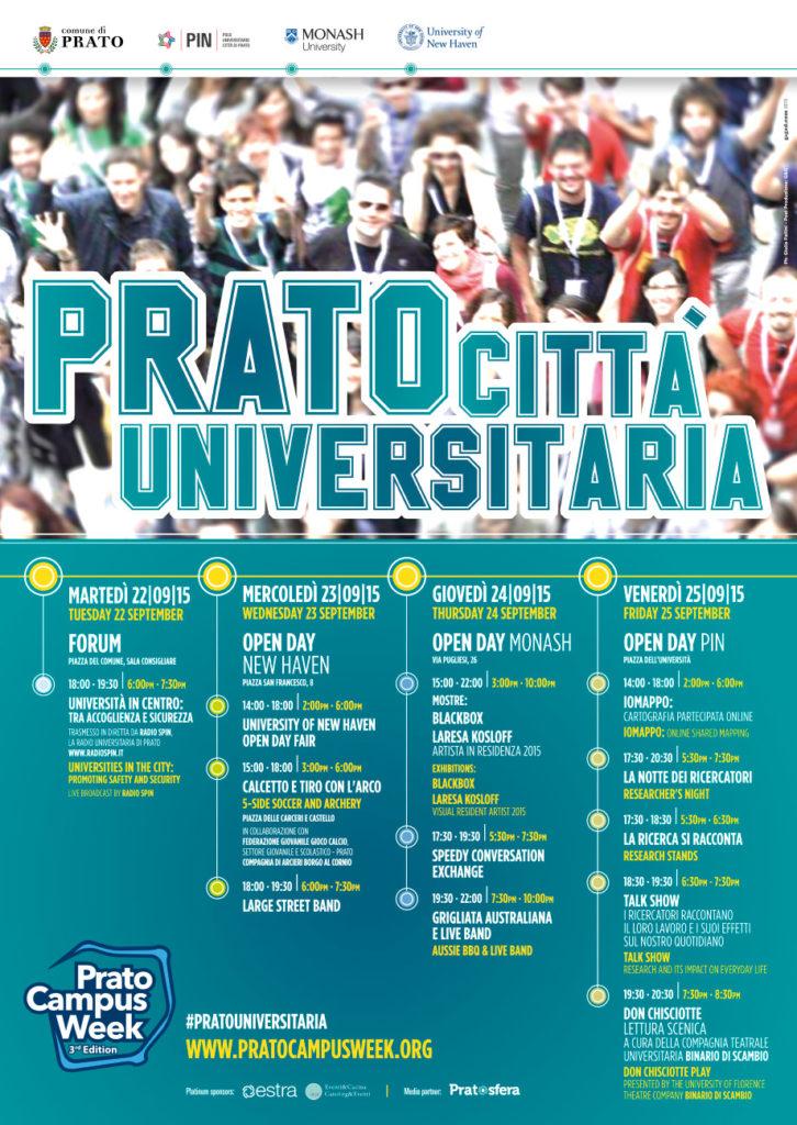 Design Prato Campus Week