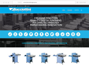 Website Bacciottini Group