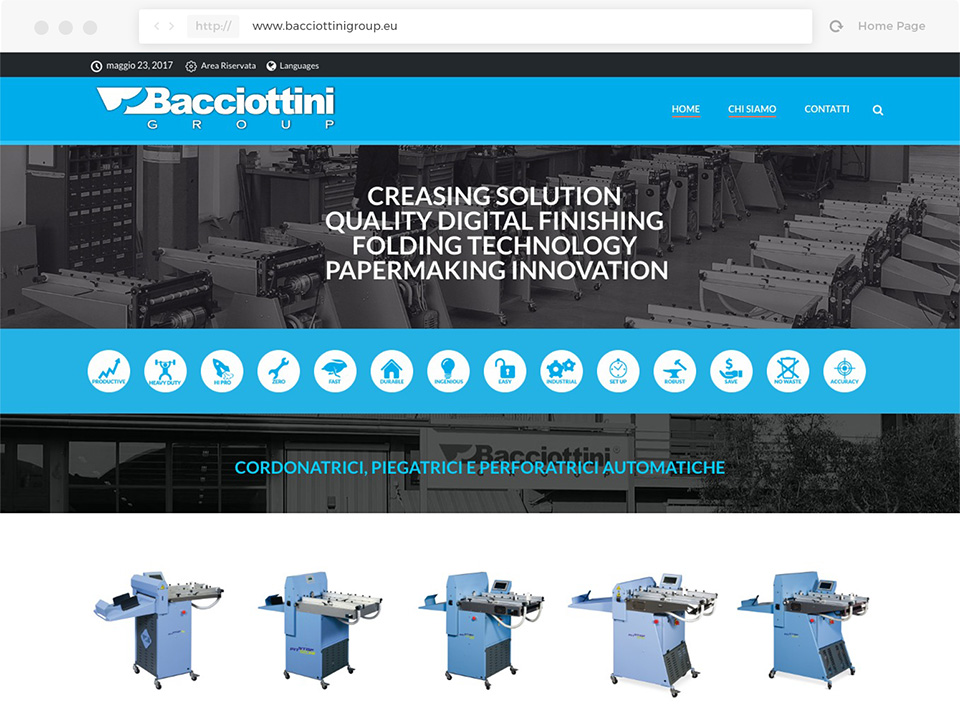 Website Bacciottini Group