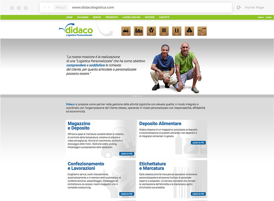 Didacologistica website